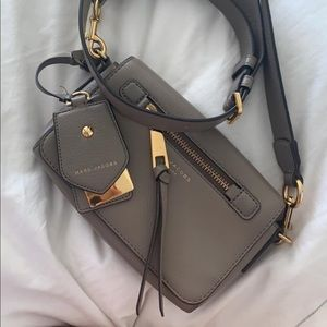 Marc Jacobs recruit bag beige/ gray